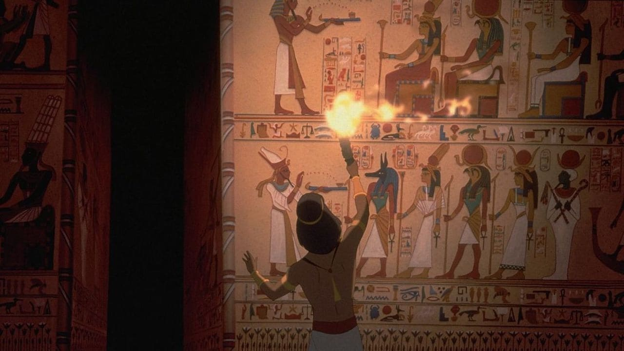 O Príncipe do Egito Dublado Online