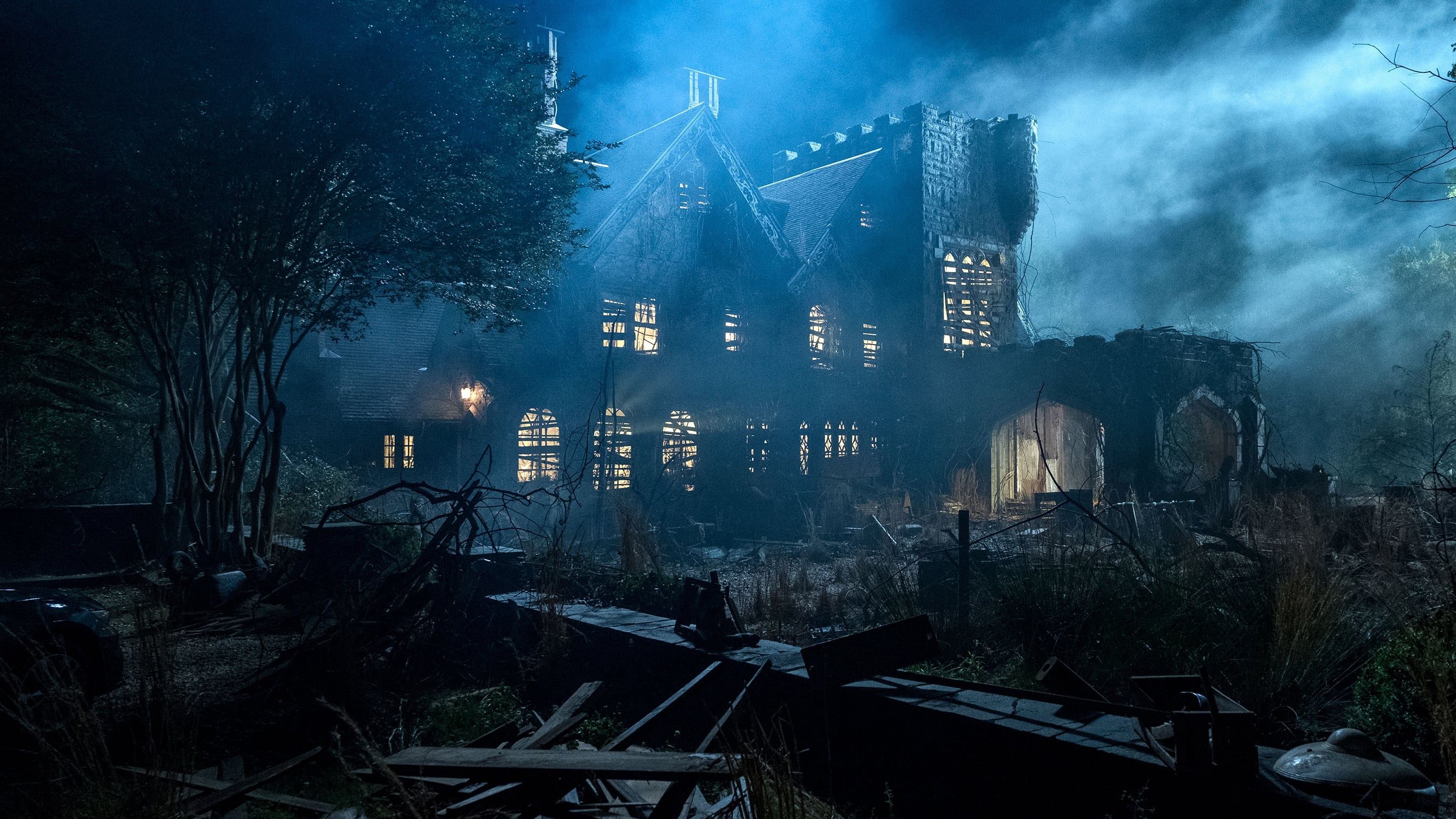 The first season, titled The Haunting of Hill House:Flashing between past and present, a fractured family confronts haunting memories of their old home and the terrifying events that drove them from it.The second season is titled The Haunting of Bly Manor.