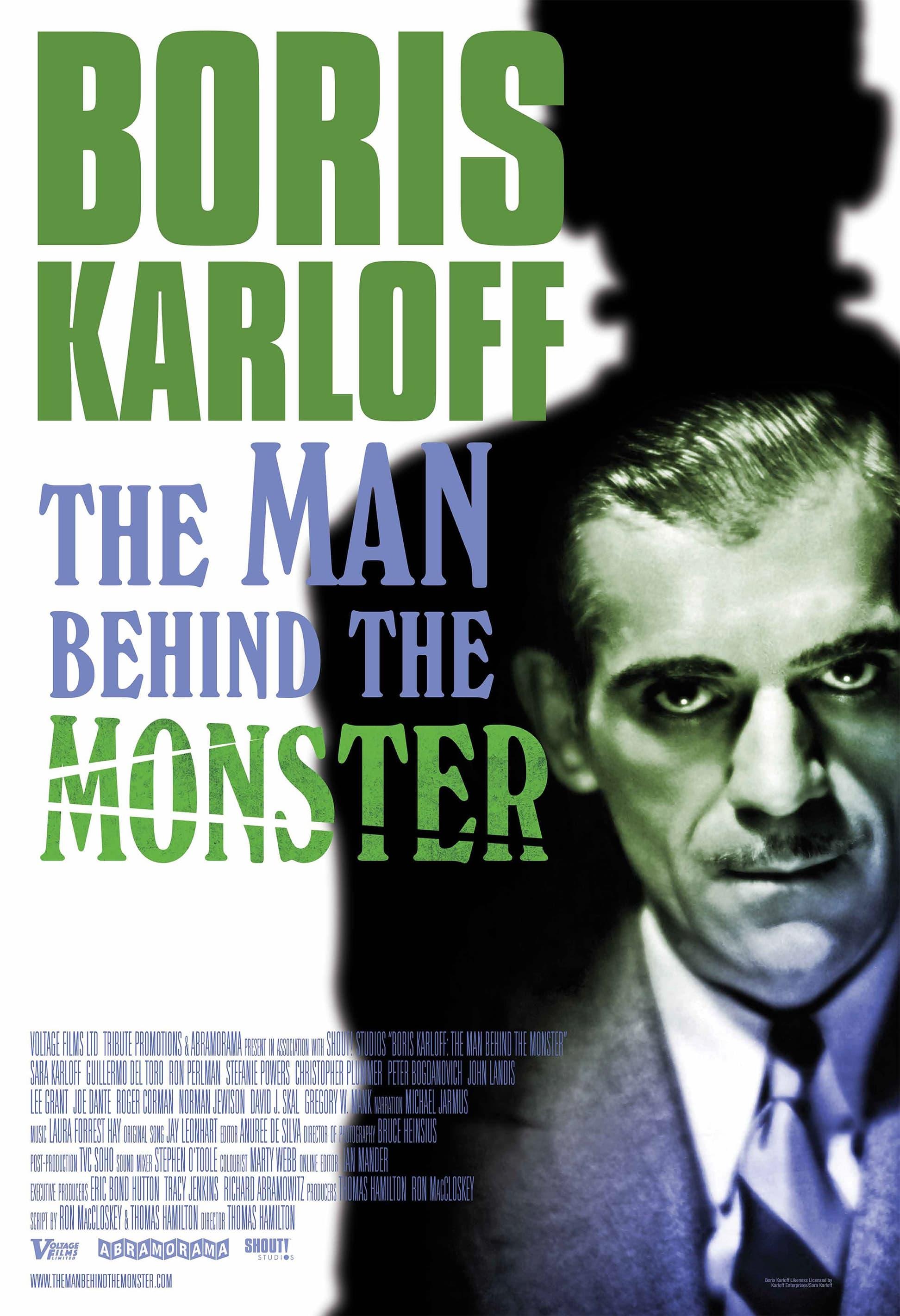 Boris Karloff: The Man Behind The Monster poster