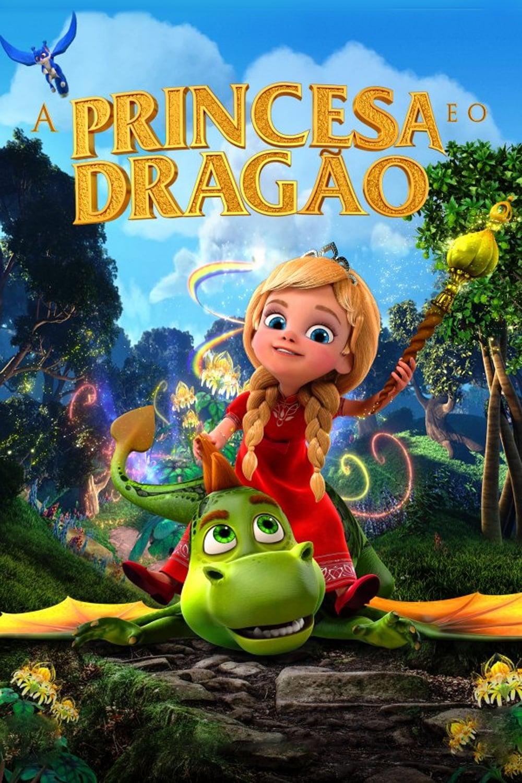 A Princesa e o Dragão Dublado