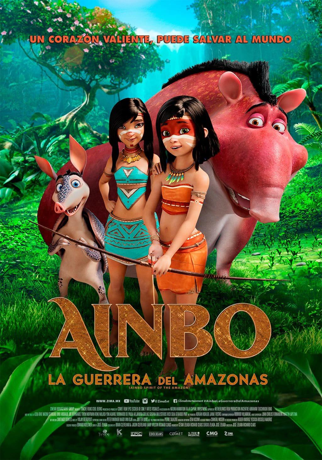 Ainbo: Spirit of the Amazon poster