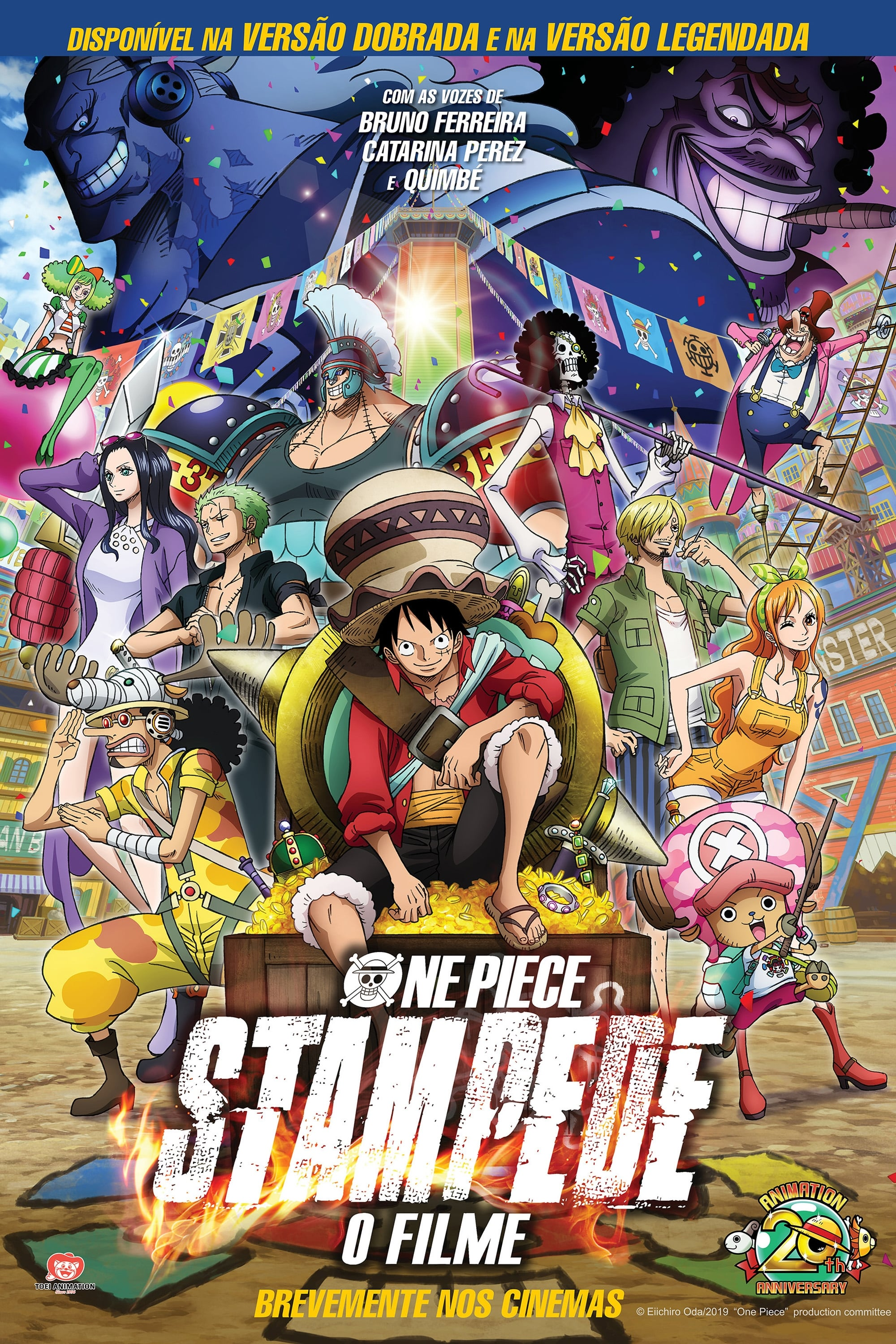 One Piece: Stampede Legendado