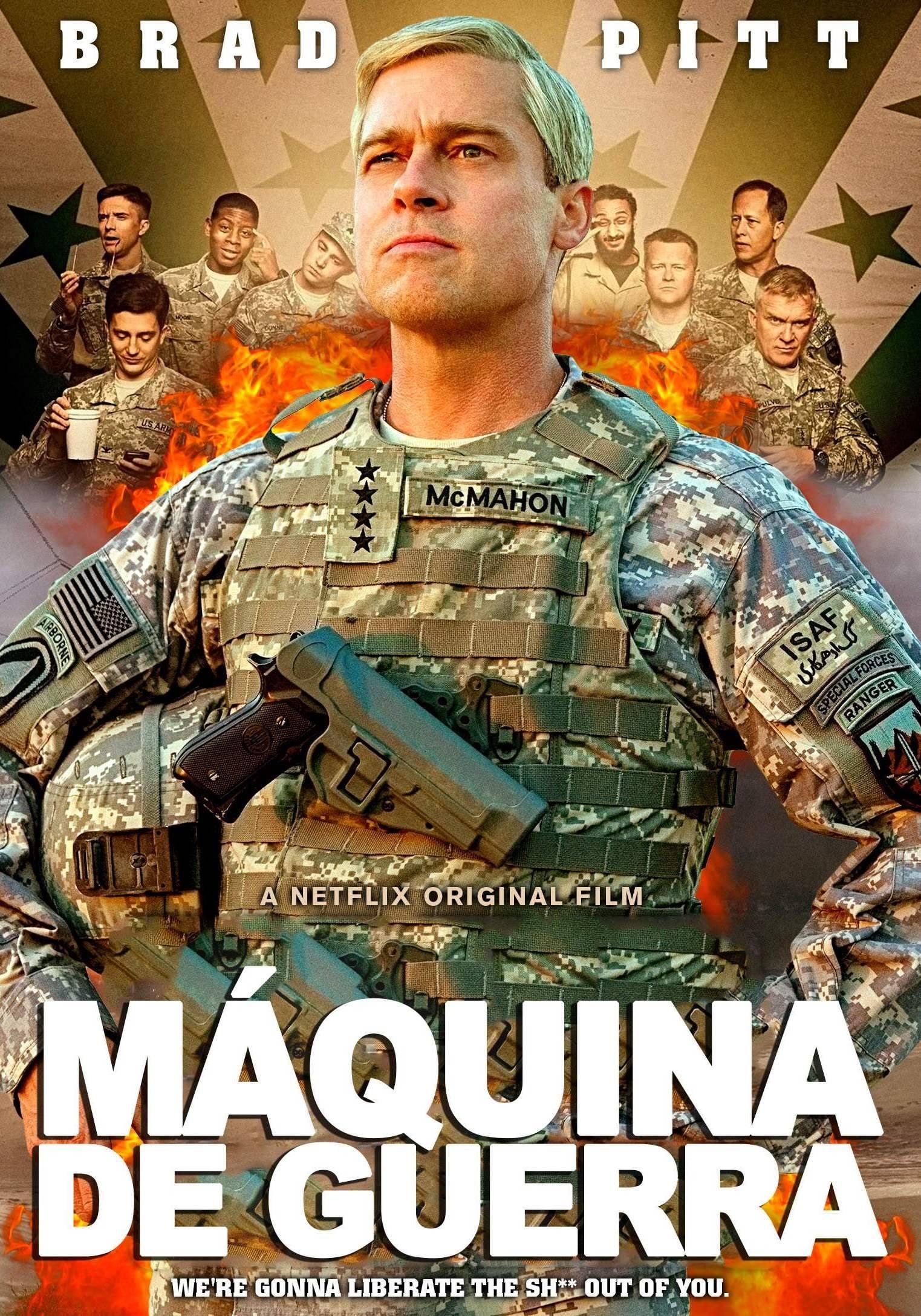 War Machine: Máquina de Guerra Dublado