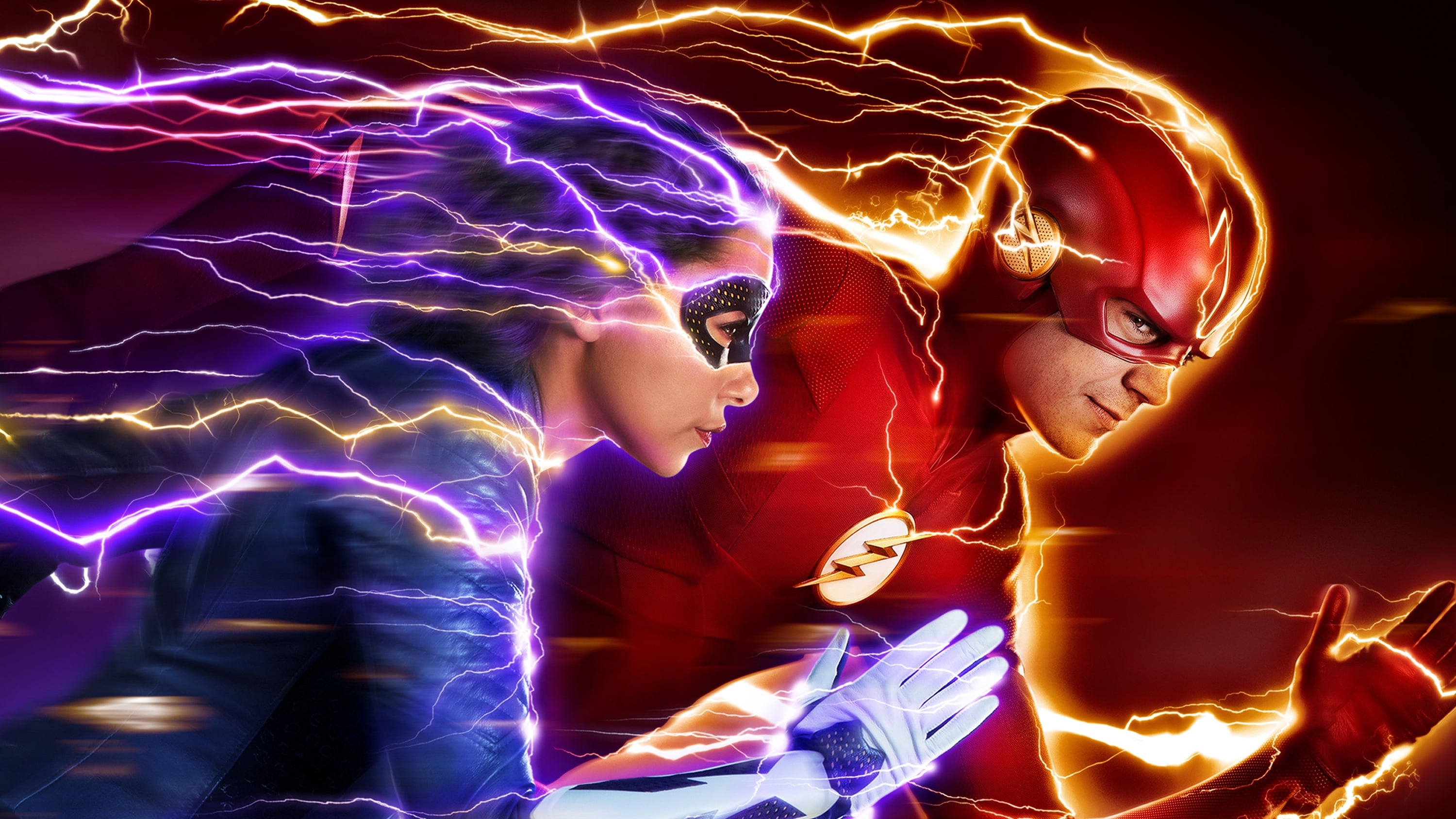 After being struck by lightning, Barry Allen wakes up from his coma to discover he's been given the power of super speed, becoming the Flash, fighting crime in Central City.