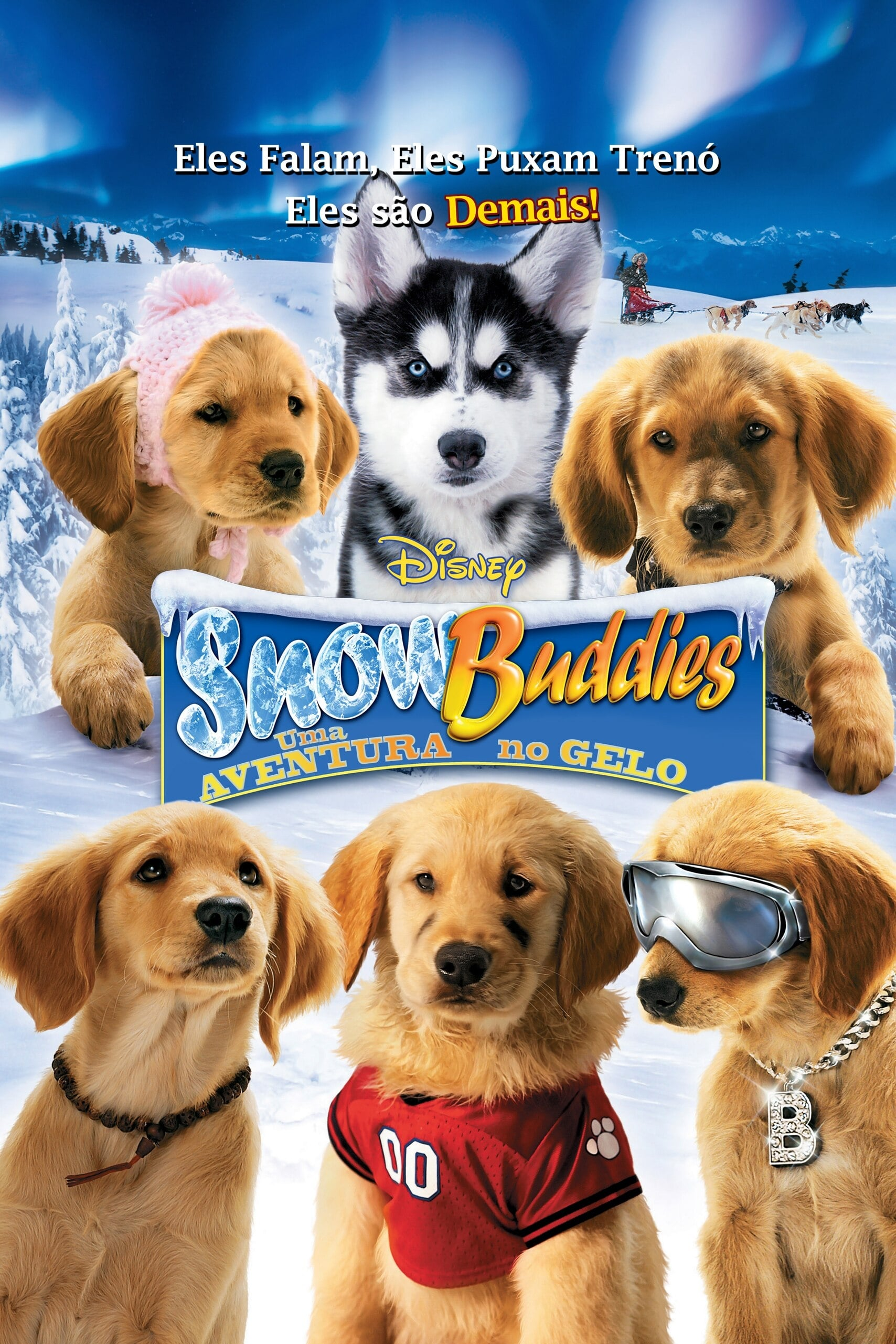 Snow Buddies – Uma Aventura no Gelo Dublado