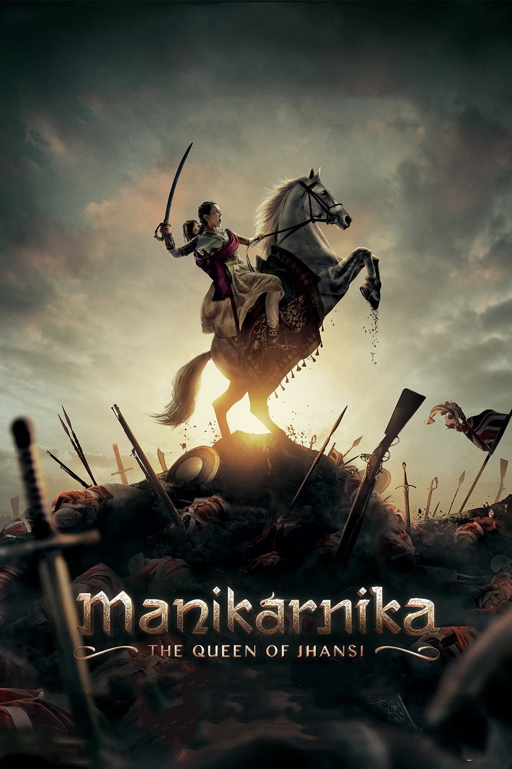 Manikarnika: The Queen of Jhansi (REGINA DIN JHANSI)