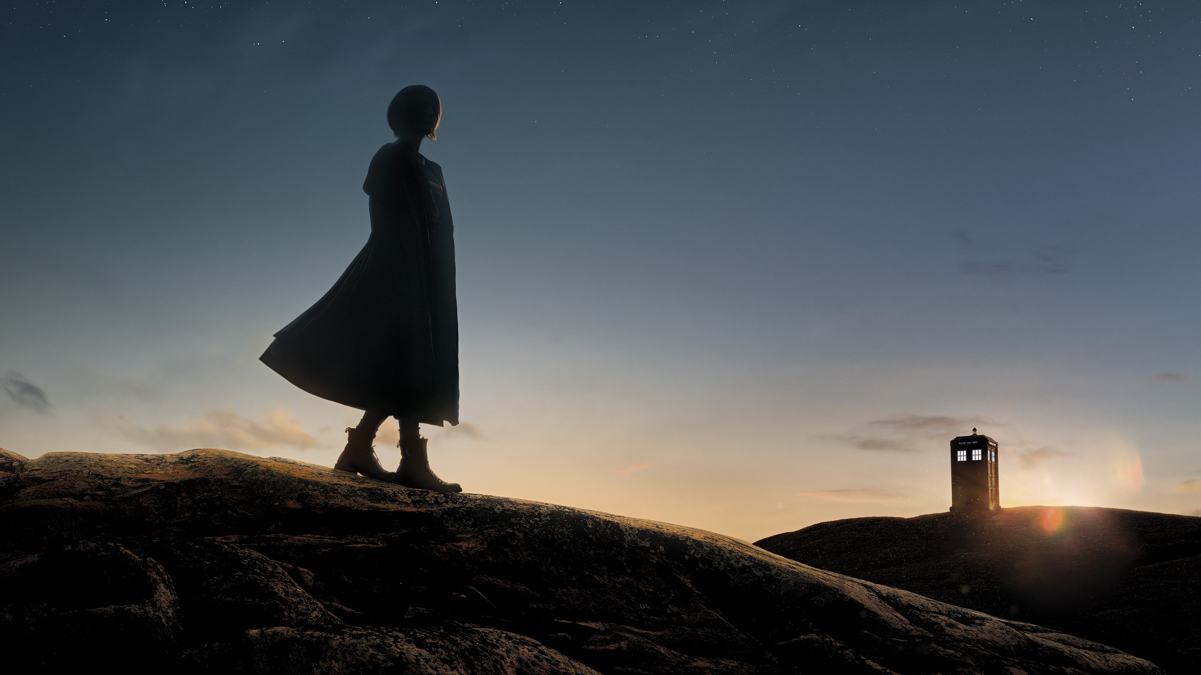 """The Doctor is an alien Time Lord from the planet Gallifrey who travels through all of time and space in the TARDIS. The Doctor has a long list of friends and companions who have shared journeys along the way. Instead of dying, the Doctor is able to """"regenerate"""" into a new body, taking on a new personality with each regeneration."""