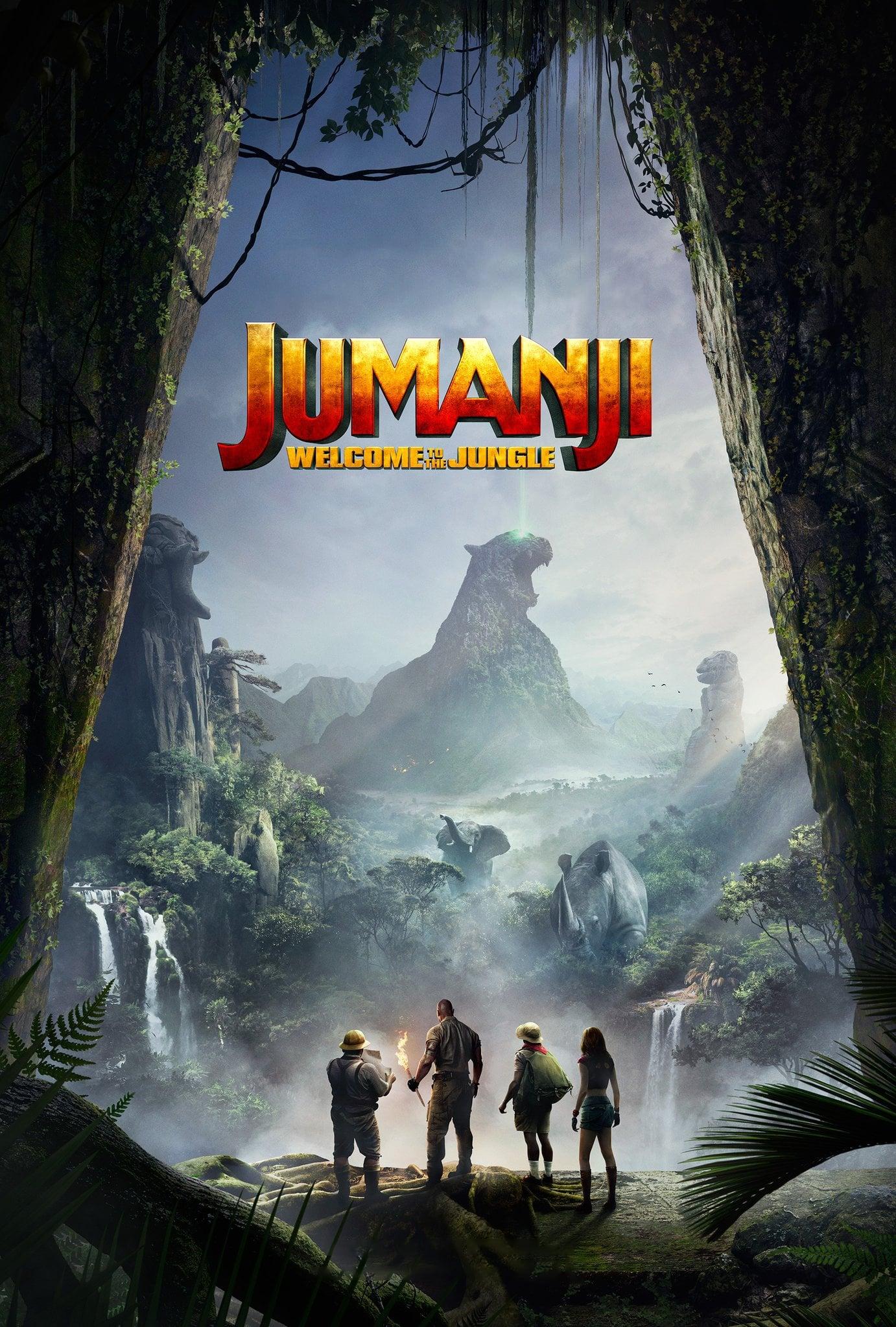 Assistir Jumanji: Bem-Vindo à Selva Dublado Online Dublado HDTS