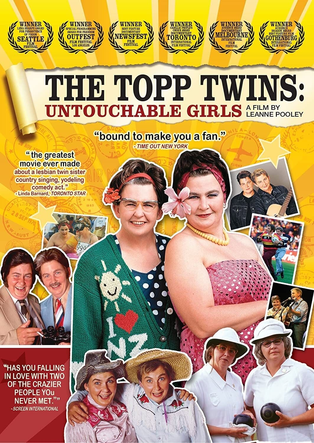 The Topp Twins:  ...