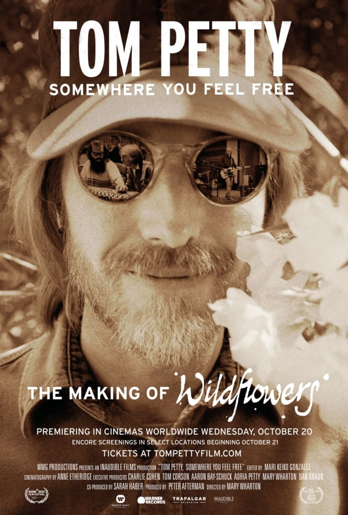 Tom Petty, Somewhere You Feel Free poster