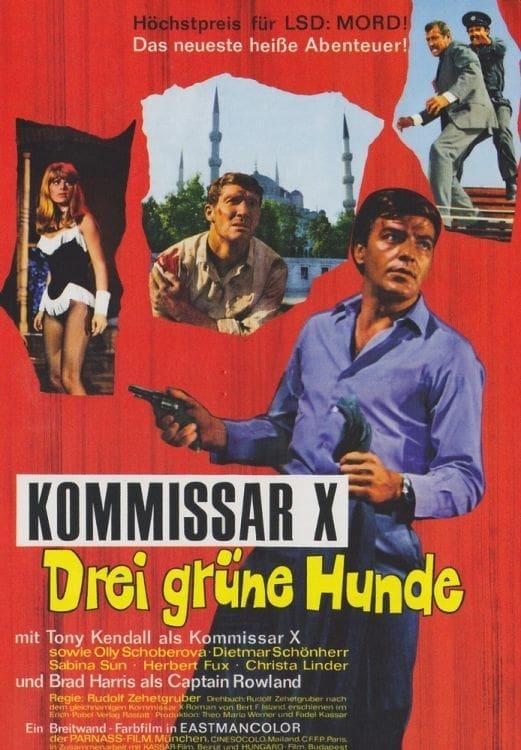 Kommissar X – Drei grüne Hunde (1967)