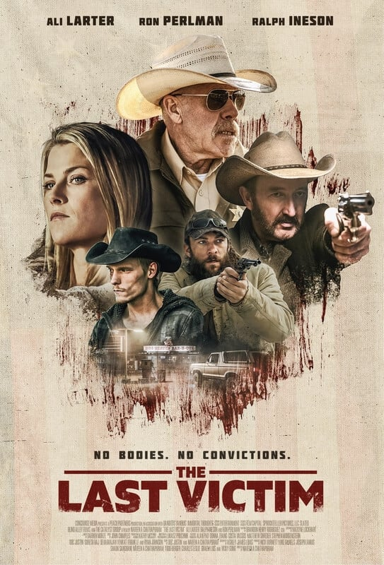 The Last Victim poster