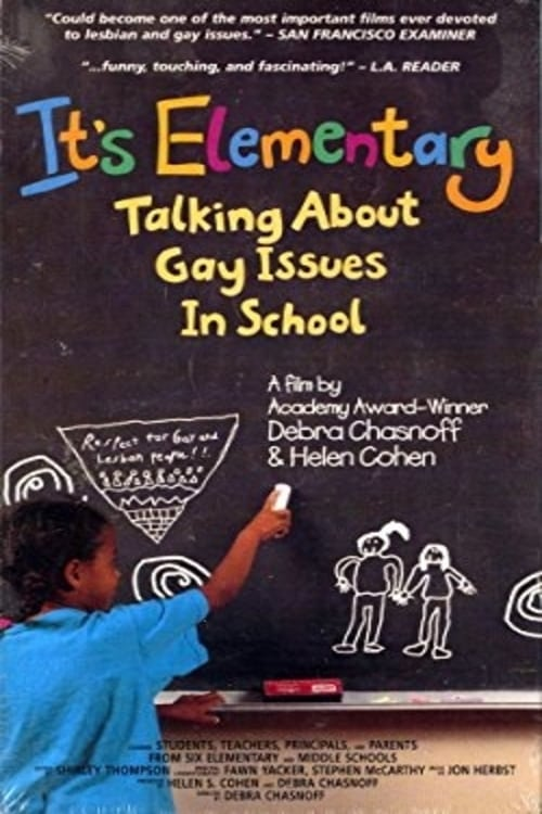 Ver It's Elementary: Talking About Gay Issues in School Online HD Español (1996)