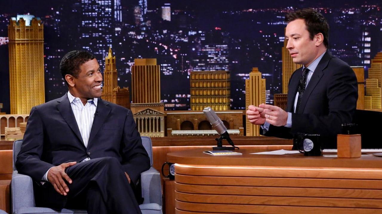 The Tonight Show Starring Jimmy Fallon Season 1 :Episode 9  Denzel Washington, Shaun White, Sara Bareilles
