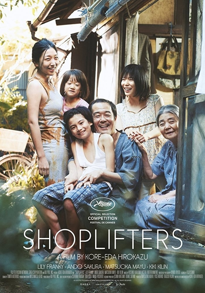 Poster and image movie Film Shoplifters - Shoplifters 2018