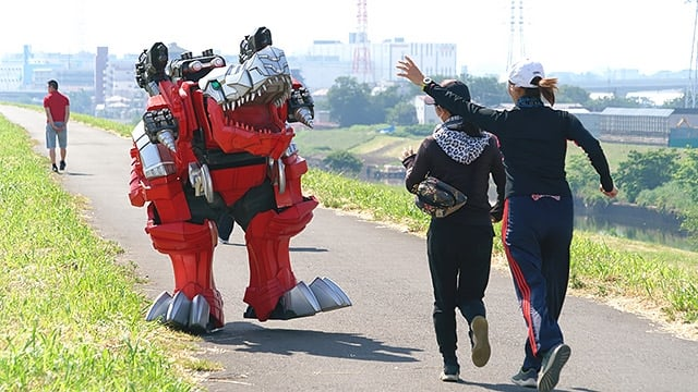 Super Sentai Season 43 :Episode 19  Attack on Tyramigo
