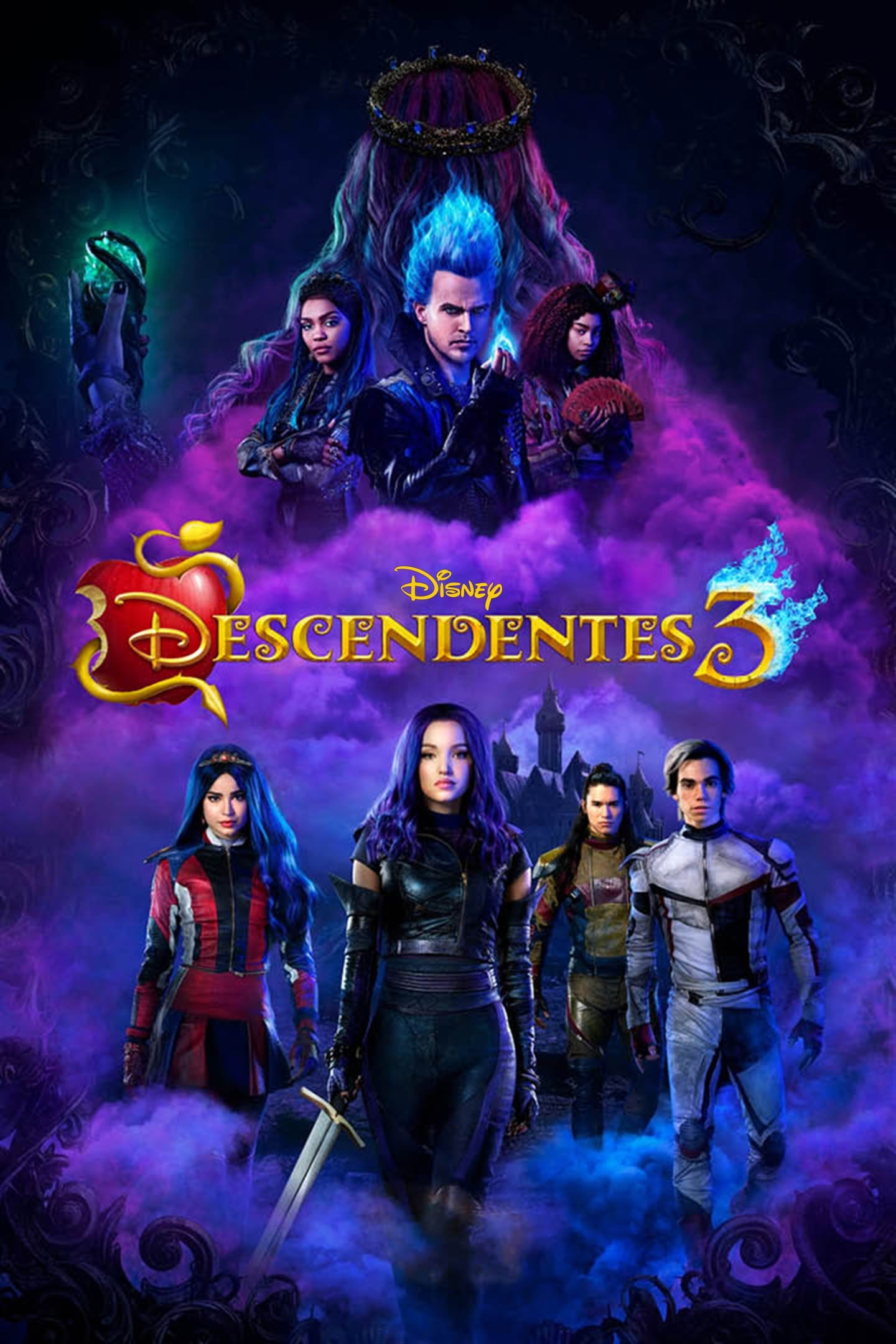 Poster and image movie Film Descendants 3 2019
