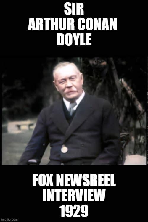 Arthur Conan Doyle (1929)