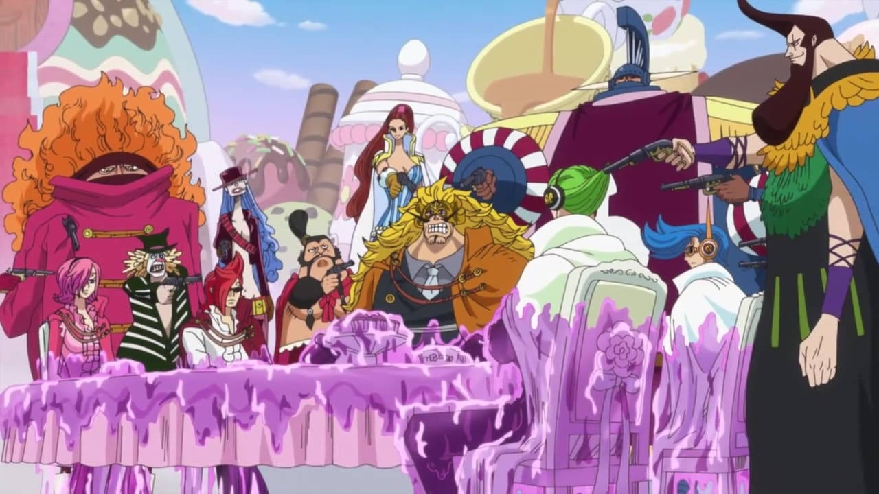 One Piece Season 19 :Episode 834  The Mission Failed?! The Big Mom Pirates Strike Back!