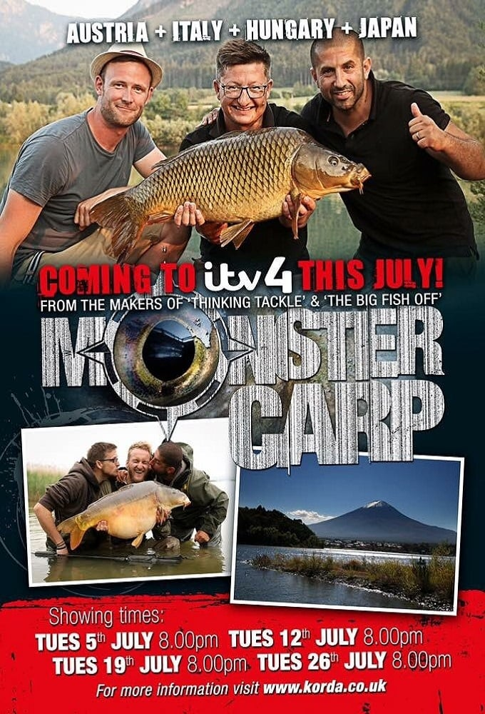Monster Carp TV Shows About Fish