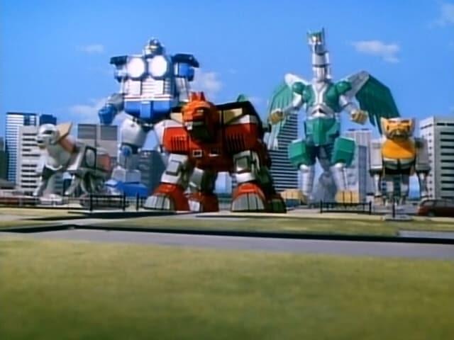 Super Sentai Season 22 :Episode 7  The Time of Rebirth