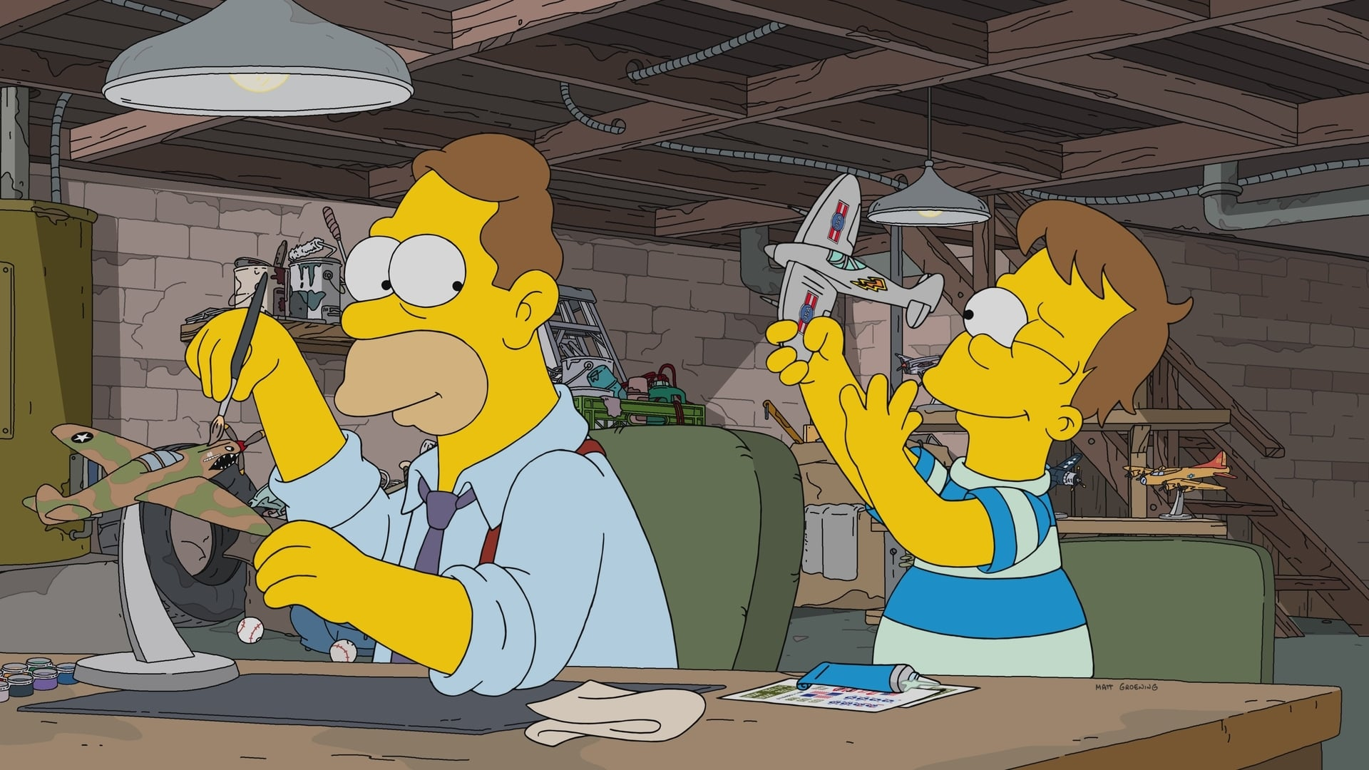 The Simpsons Season 29 :Episode 18  Forgive and Regret