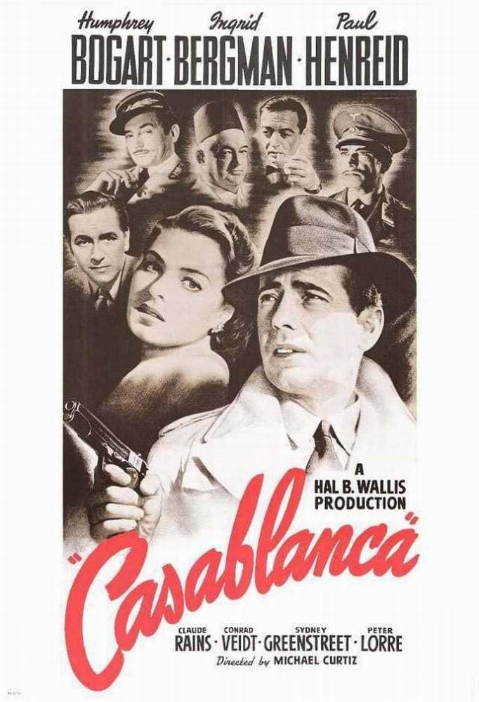 chapter notes on casablanca Ap us outlines outline the (seven years) war chapter 4 pre war north america tradition of benign neglect by britain casablanca tehran yalta potsdam.