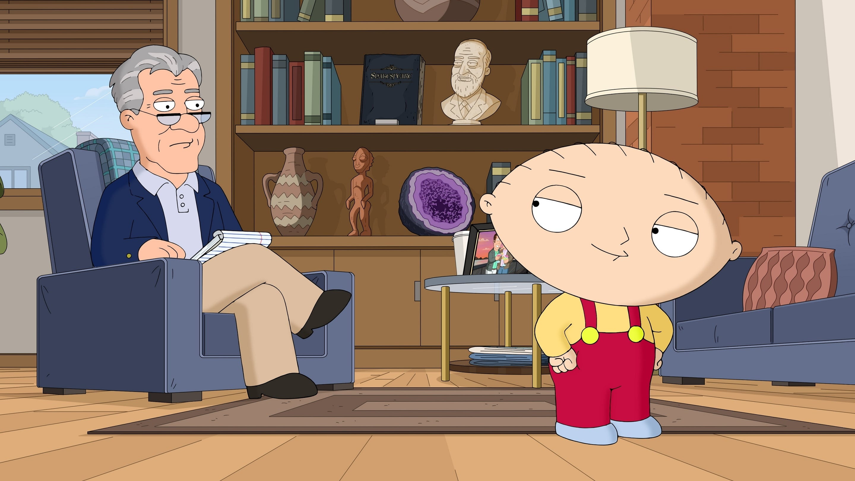 Family Guy Season 16 :Episode 12  Send in Stewie, Please