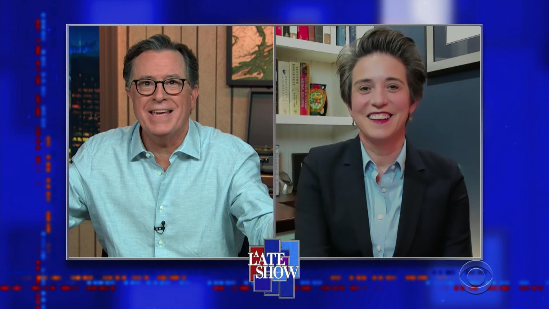 The Late Show with Stephen Colbert Season 6 :Episode 27  Julie Andrews, Amy Walter, Sam Smith