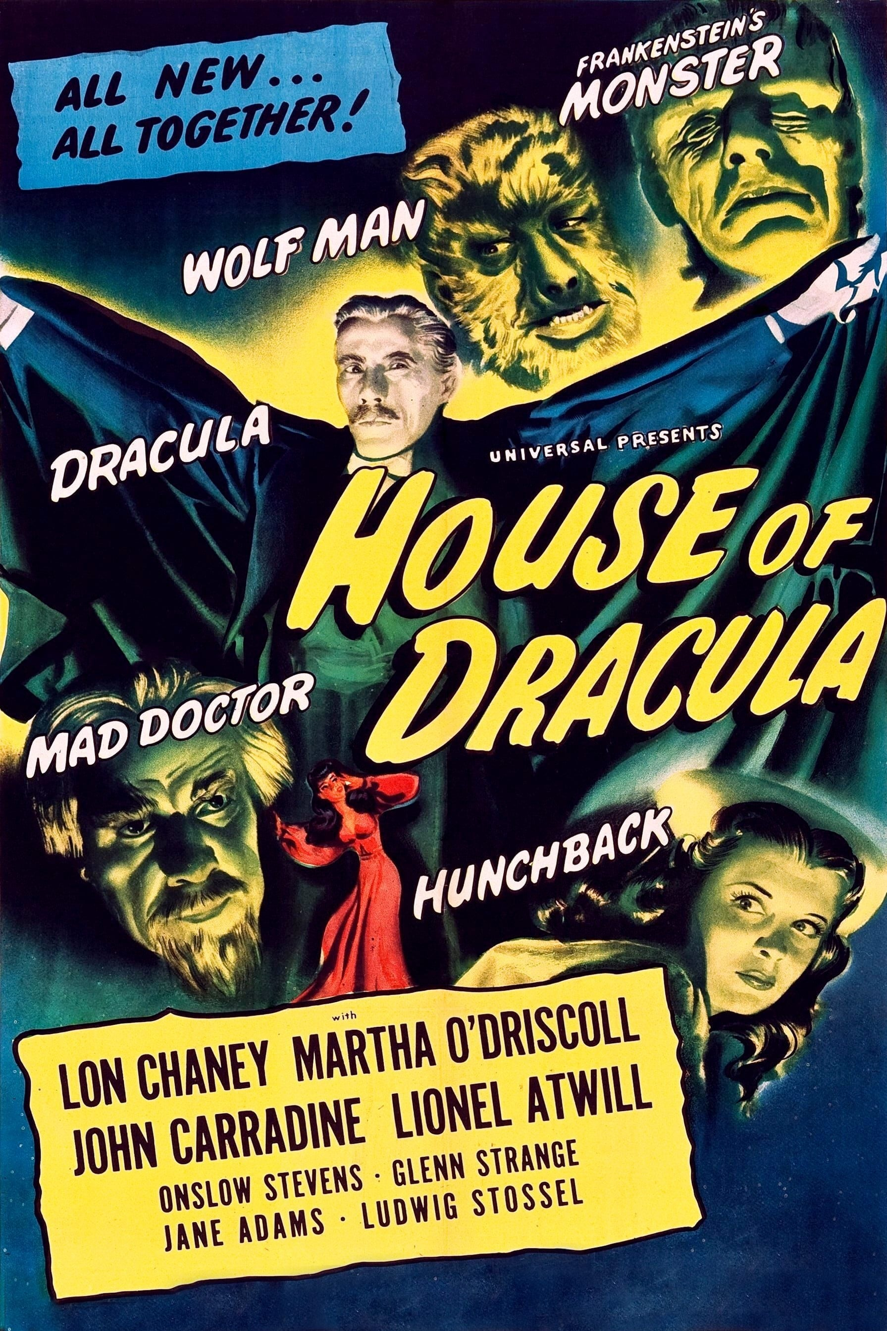 House of Dracula on FREECABLE TV