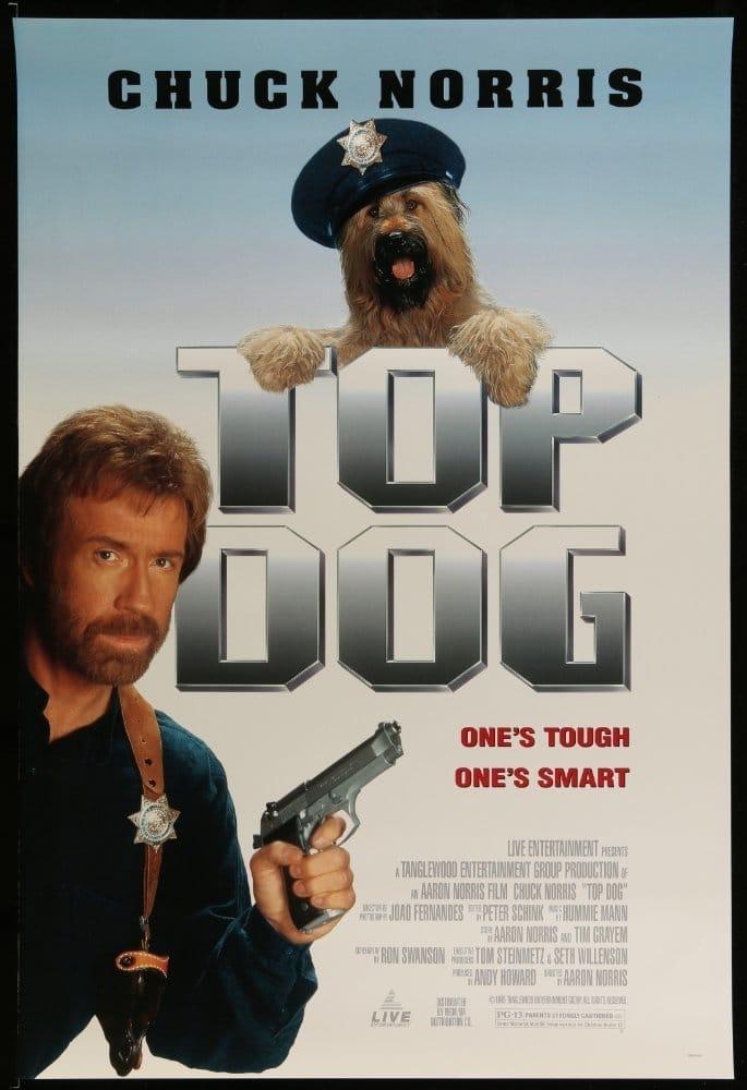 Šuo policininkas / Top Dog (1995) žiūrėti online