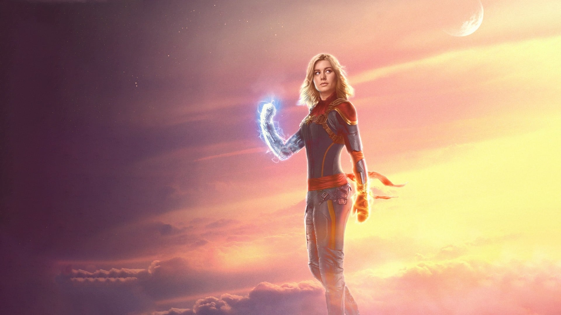 Backgrounds and walpapers Captain Marvel
