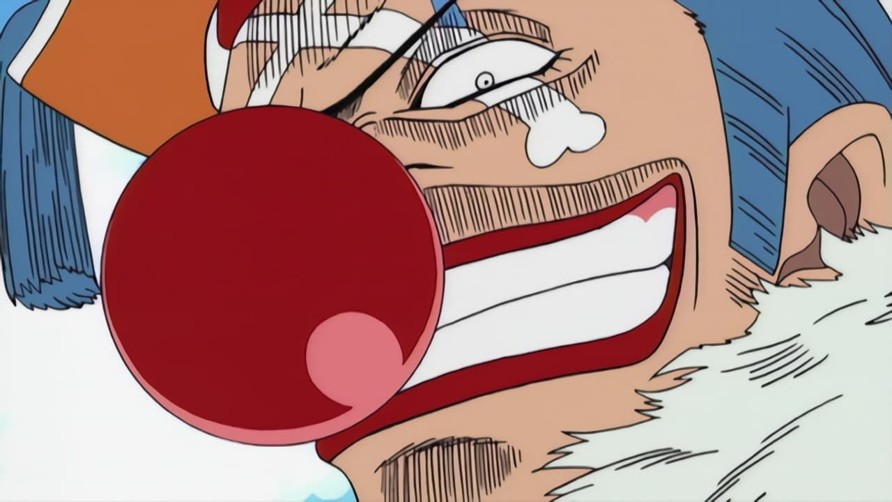 One Piece Season 1 :Episode 5  Fear, Mysterious Power! Pirate Clown Captain Buggy!