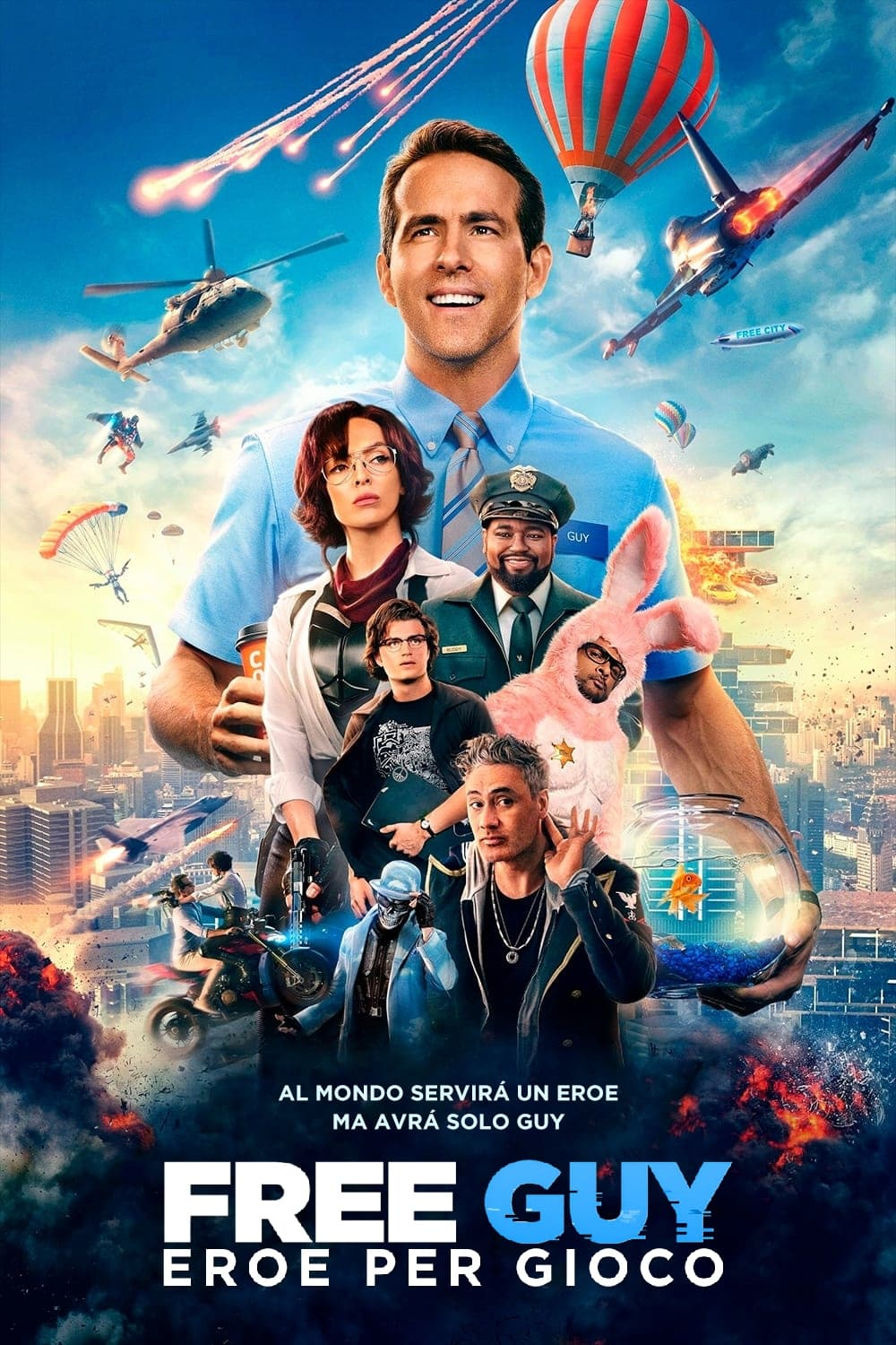 Poster and image movie Free Guy