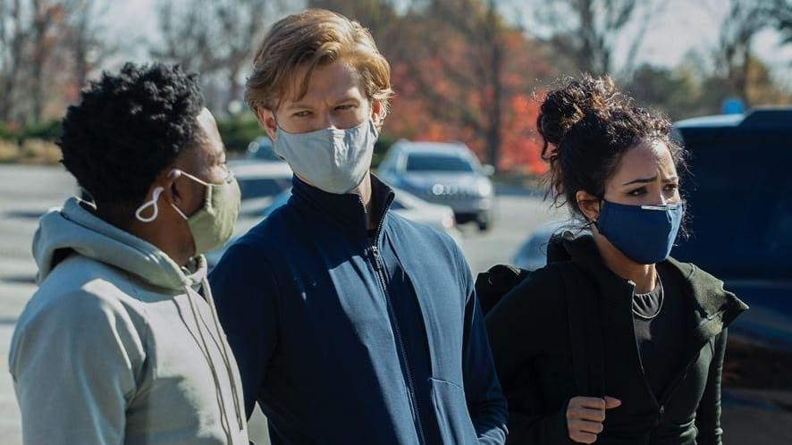 MacGyver Season 5 :Episode 6  Quarantine + N95 + Landline + Telescope + Social Distance