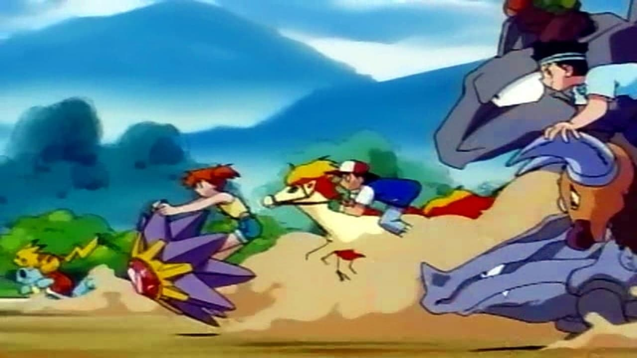 Pokémon Season 1 :Episode 33  The Flame Pokémon-athon!