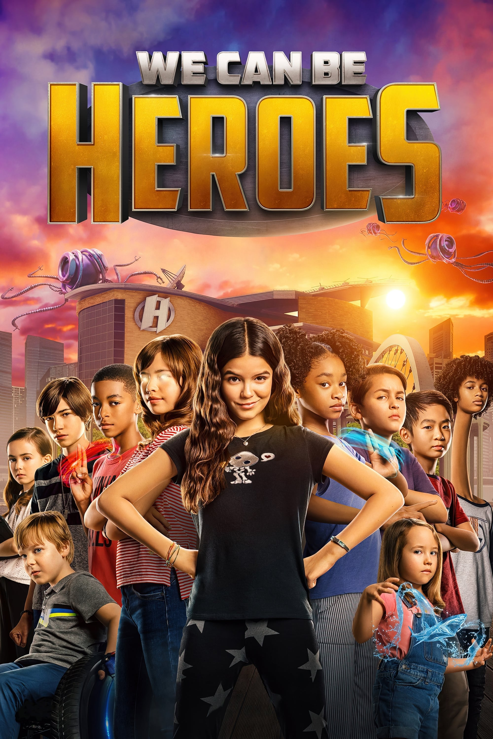 We Can Be Heroes (2020) Subtitle Indonesia