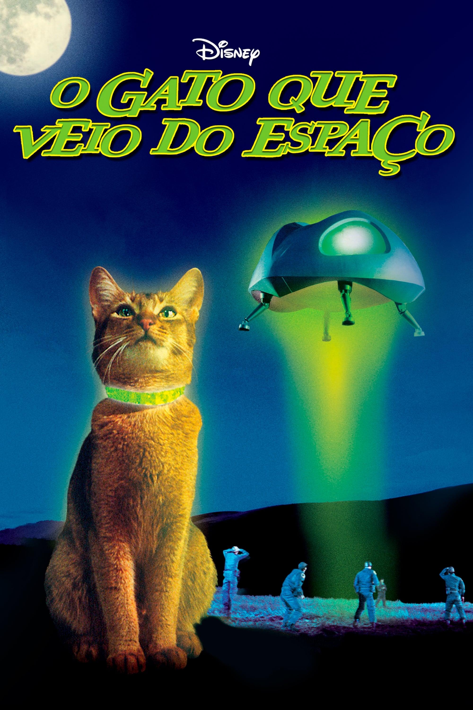 O Gato Que Veio do Espaço Dublado