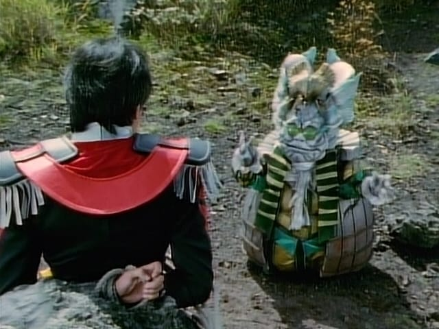 Super Sentai Season 22 :Episode 37  The Ambition of Bookrates