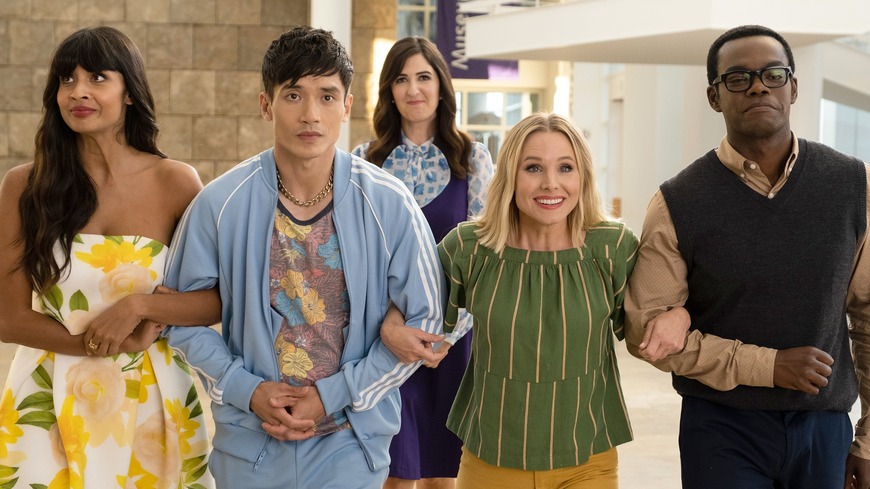 The Good Place - Season 4 Episode 12 : Patty