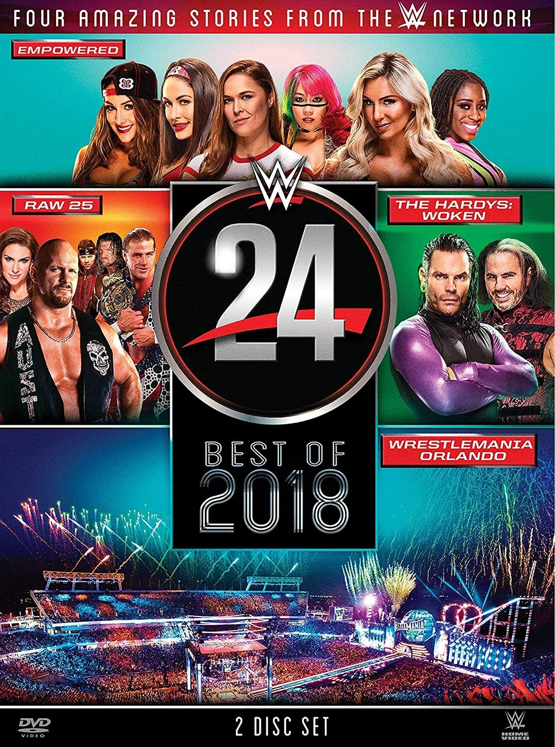 WWE 24: The Best of 2018 (2018)