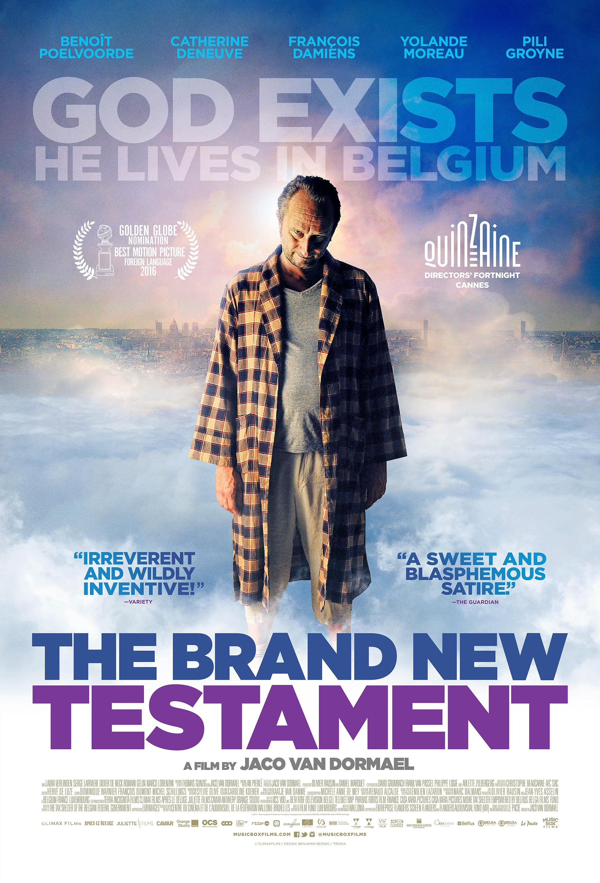The Brand New Testament (2015) - Posters — The Movie Database (TMDb)