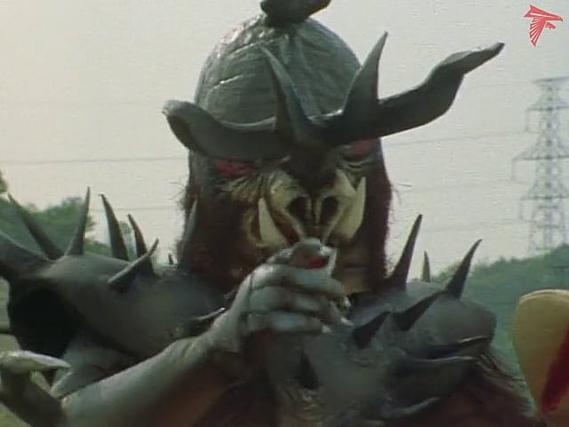 Kamen Rider Season 1 :Episode 83  Monster Inokabuton, Defeat the Rider With Crazy Gas