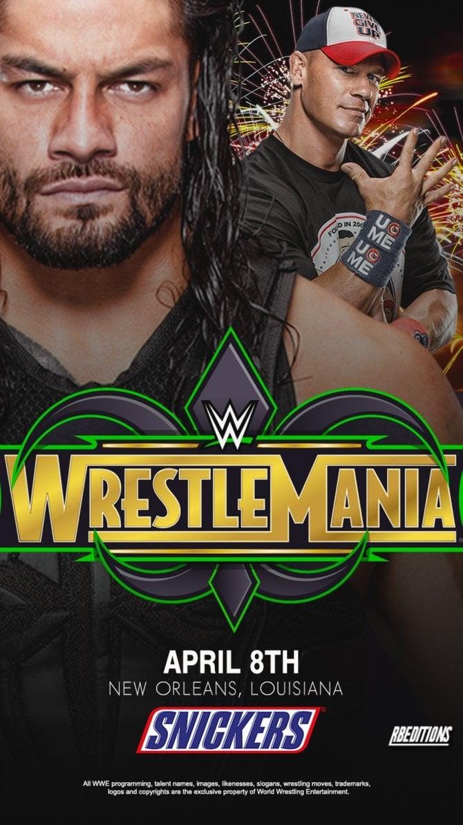 Ver WWE WrestleMania 34 Online HD Español ()