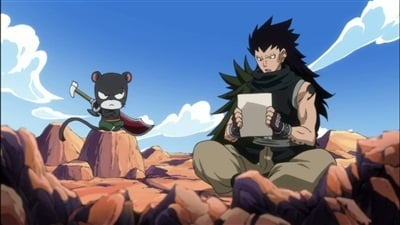 Fairy Tail Season 3 :Episode 39  Footprints of the Myth!