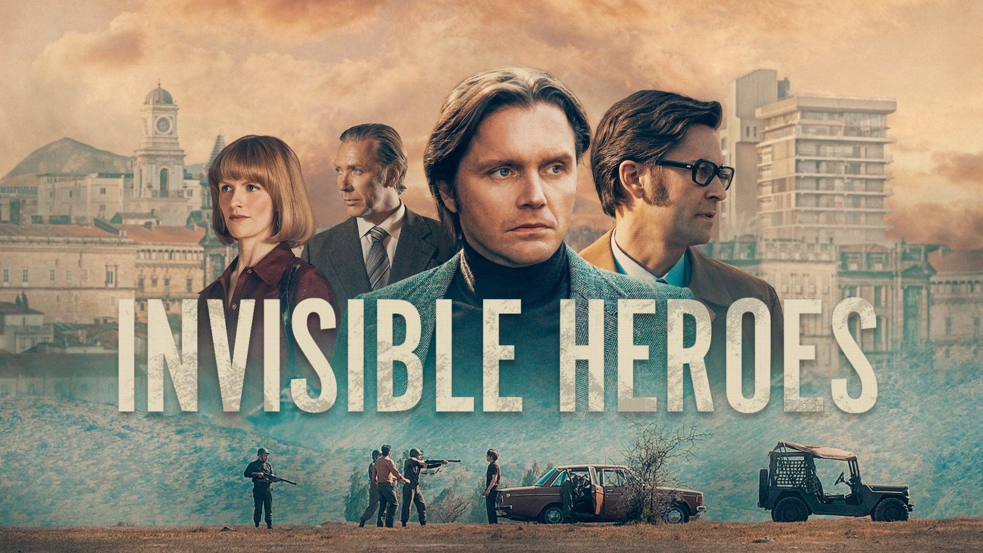 Maak kans op de miniserie Invisible Heroes