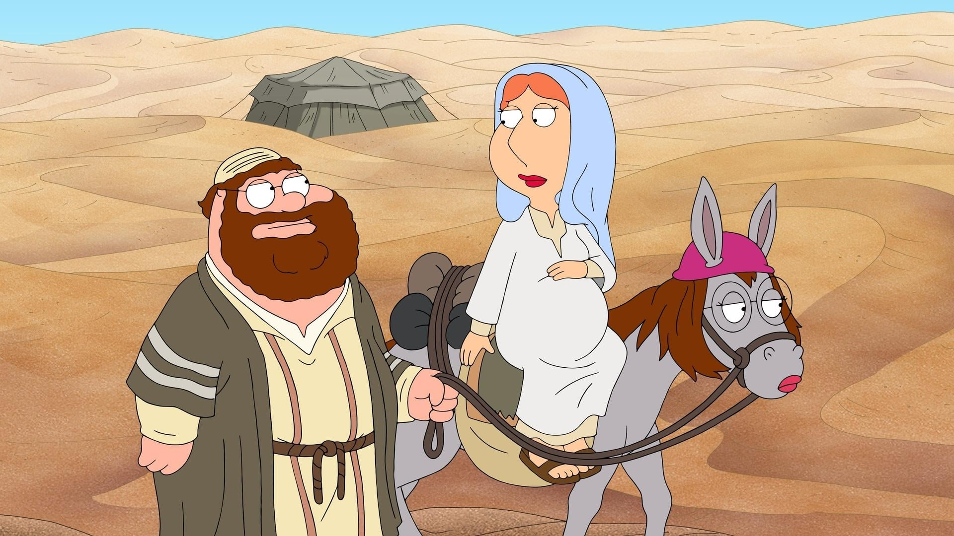 Family Guy - Season 11 Episode 8 : Jesus, Mary and Joseph!