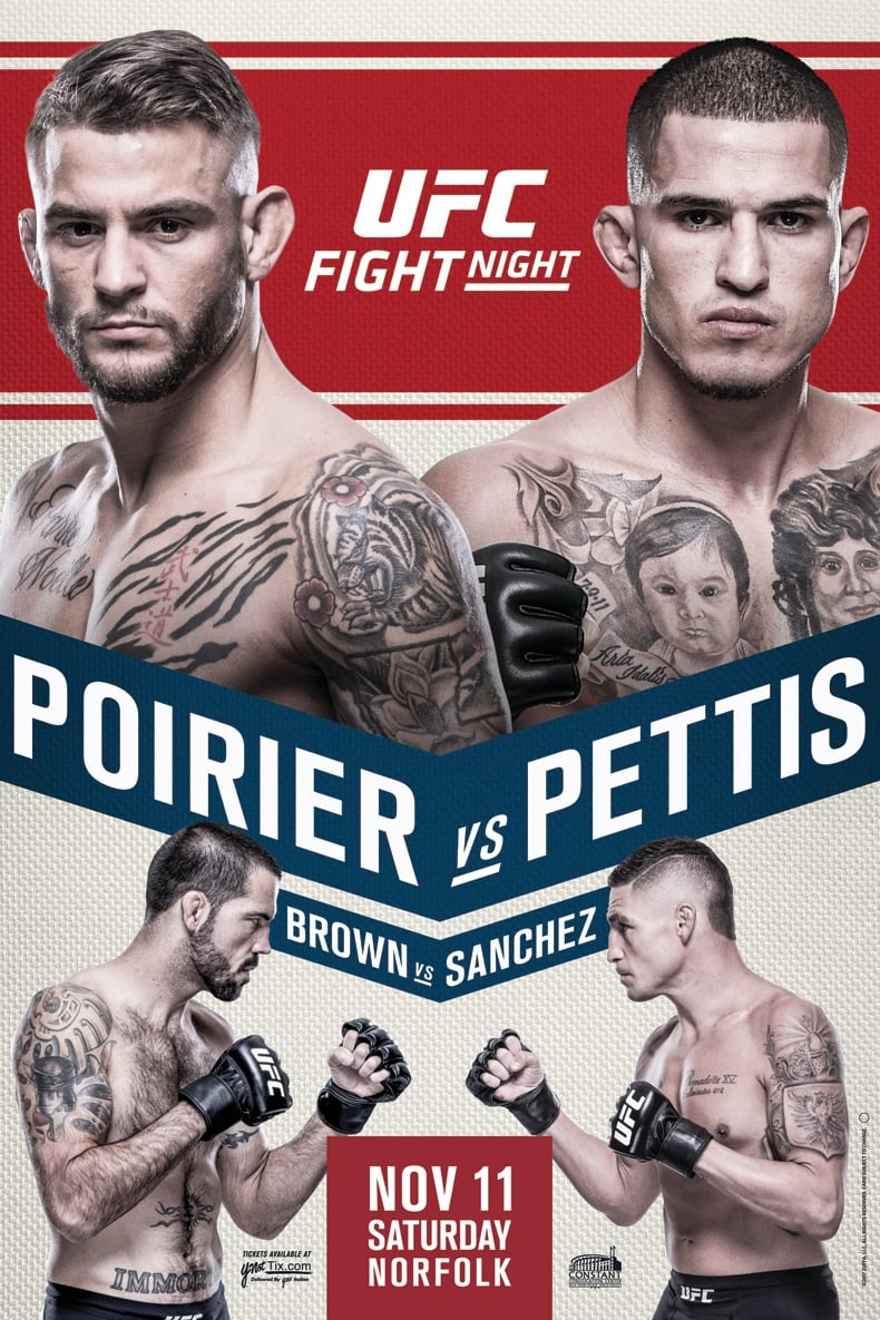 Ver UFC Fight Night 120: Poirier vs. Pettis Online HD Español ()