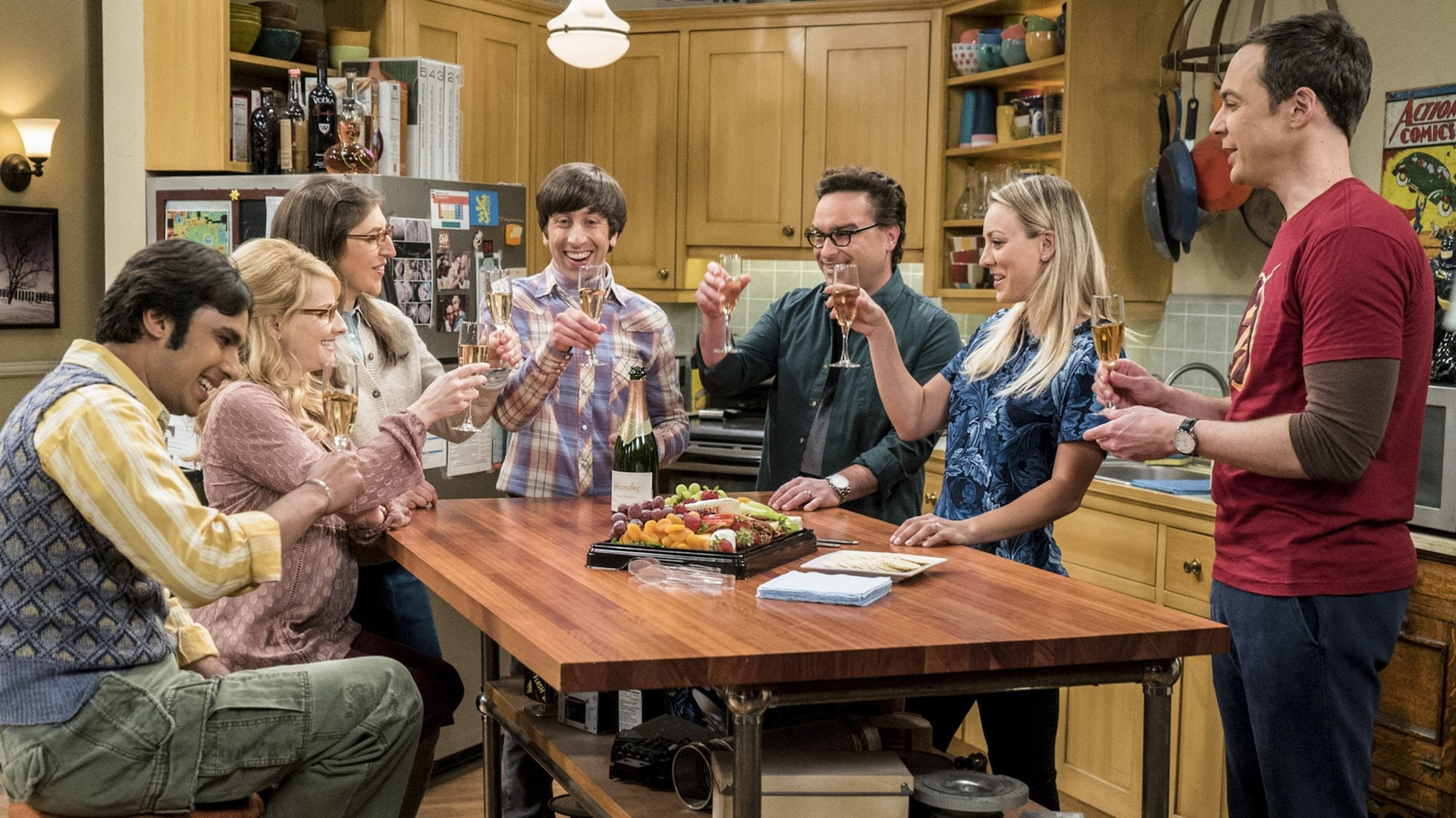The Big Bang Theory Season 10 :Episode 23  The Gyroscopic Collapse