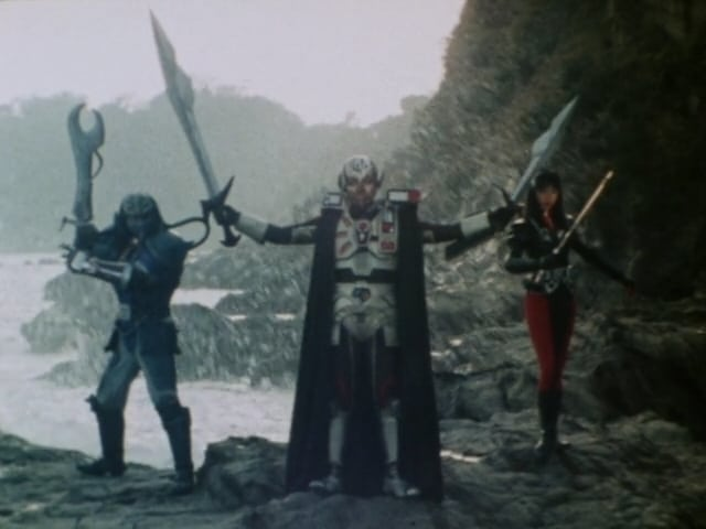 Super Sentai Season 9 :Episode 20  Grand Counterattack! Giluke